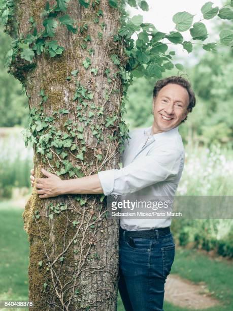 Tv presenter Stephane Bern is photographed for Paris Match on June 2 2017 in Thiron Gardais France