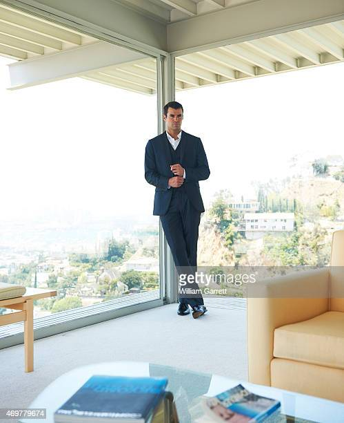 Tv presenter Steve Jones is photographed for Verycom on July 11 2011in Los Angeles California