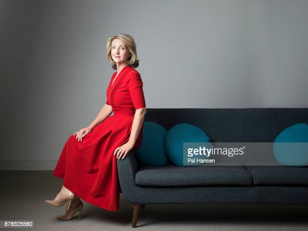 Tv presenter Victoria Derbyshire is photographed for the Observer on September 7 2017 in London England