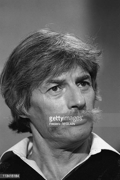 Tv Show With Jean Ferrat On December 16Th 1985 In France