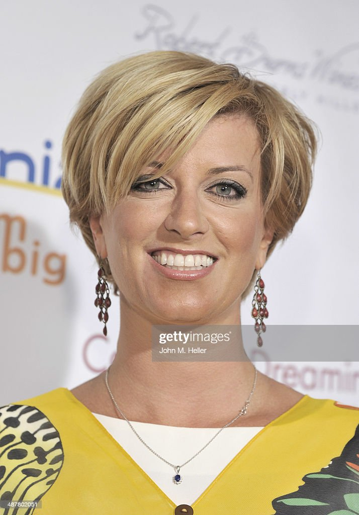 Radio Host <a gi-track='captionPersonalityLinkClicked' href=/galleries/search?phrase=Caroline+Feraday&family=editorial&specificpeople=216155 ng-click='$event.stopPropagation()'>Caroline Feraday</a> attends the Local Woman Lights Up Hollywood a with Dream Book at the L'Ermitage Hotel on May 1, 2014 in Beverly Hills California.