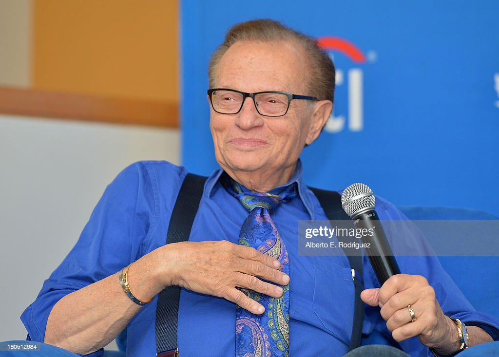 The National Radio Hall Of Fame And Larry King Host A Private Lunch Honoring Charley Steiner