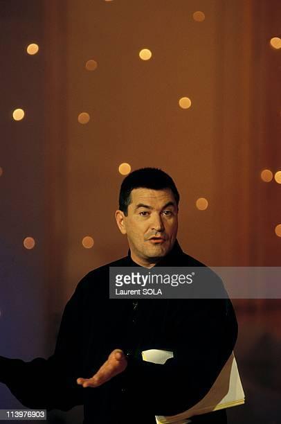 Tvshow 'Star 90' presented by JeanMarie Bigard In Paris France On November 15 1993JeanMarie Bigard