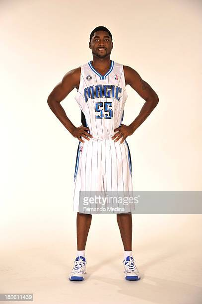 Twaun Moore of the Orlando Magic poses for a portrait during media day on September 30 2013 at Amway Center in Orlando Florida NOTE TO USER User...