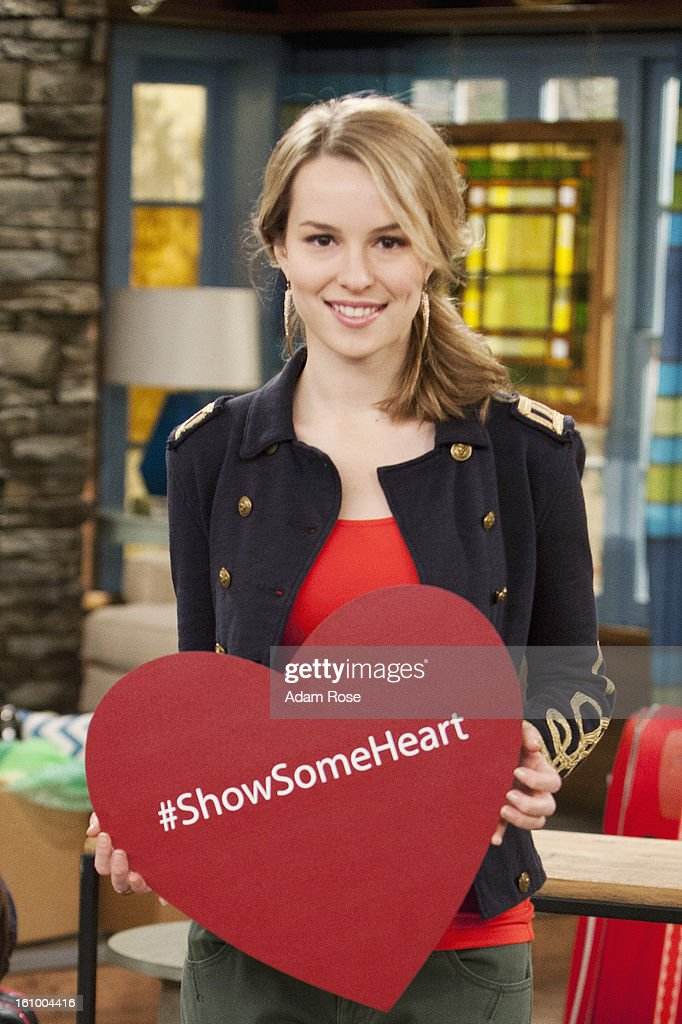 CHARLIE - #SHOWSOMEHEART - Tween and teen stars of Disney Channel and Disney XD champion kindness and generosity of spirit towards others in 'Show Some Heart' video messages to be posted on the young actors' Twitter feeds and @DisneyChannelPR beginning today, February 8. The popular stars share how they 'Show Some Heart' and encourage others to share their own acts of kindness via #ShowSomeHeart. (Photo by Adam Rose/Disney Channel via Getty Images)BRIDGIT
