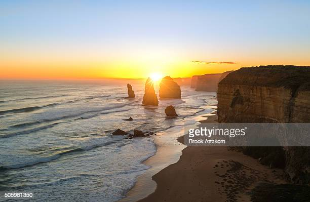 Twelve Apostles at sunset (Great Ocean Road)