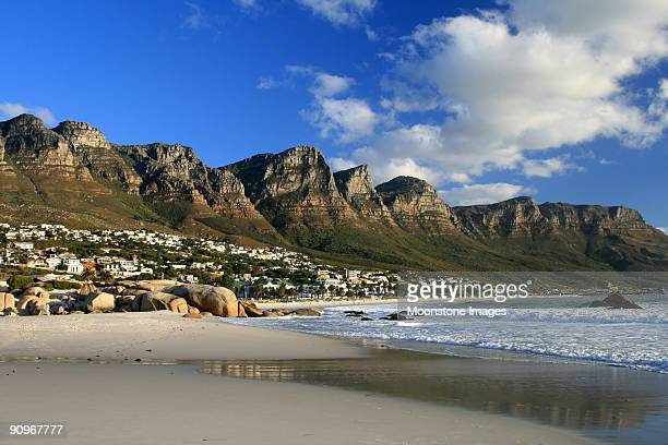 Twelve Apostles in Camps Bay, Cape Town, South Africa