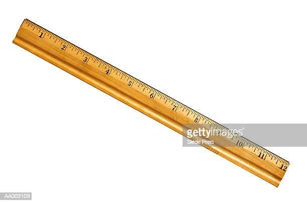 Twelve Inch Wooden Ruler