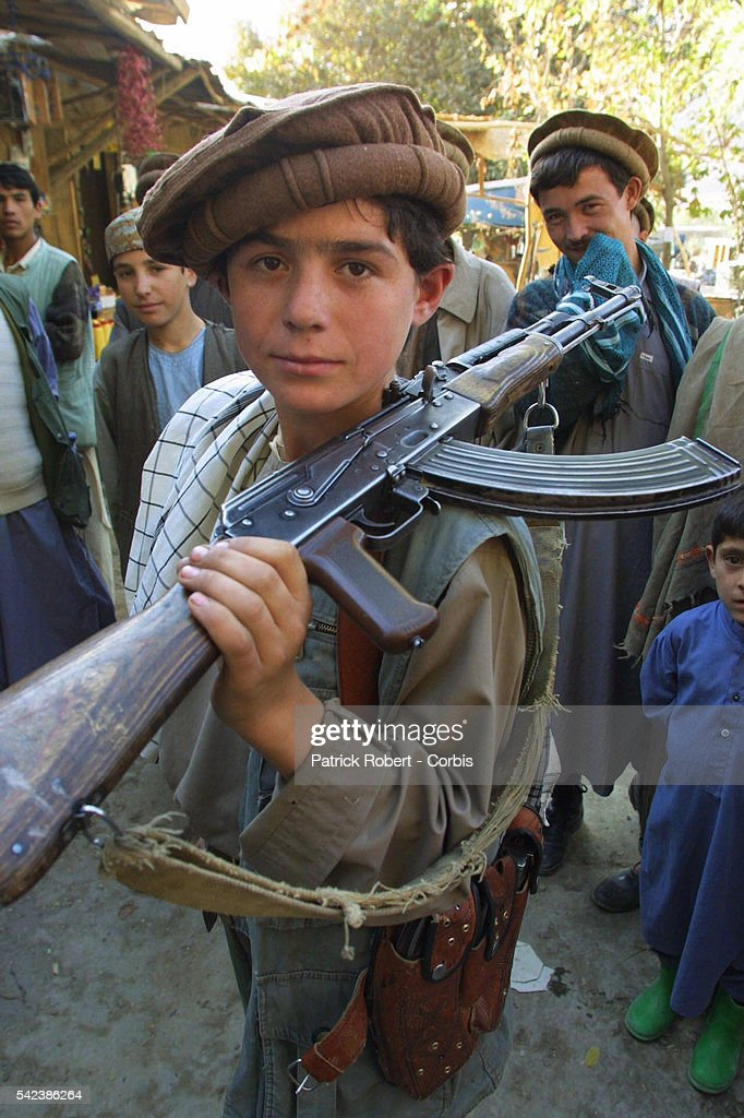 Twelveyearold Shukrullah is ready to join the Northern Alliance forces