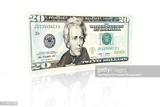 US Twenty Dollar Bill