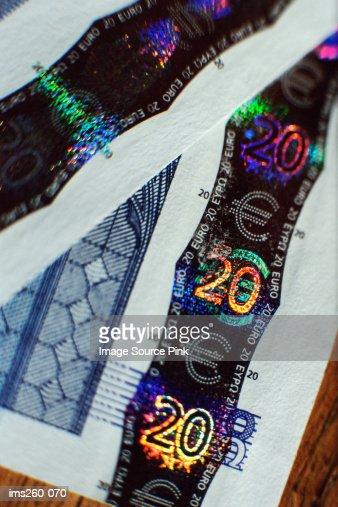 Twenty euros : Stock-Foto