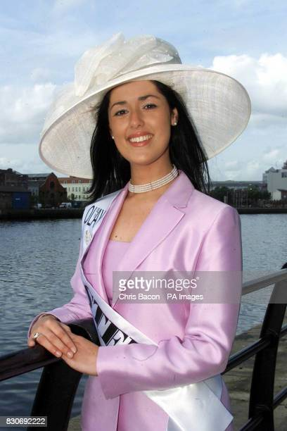 Twenty two year old Sheila Patton at the launch of the 2001 Rose of Tralee International Festival in Dublin Sheila who will be representing Ulster is...