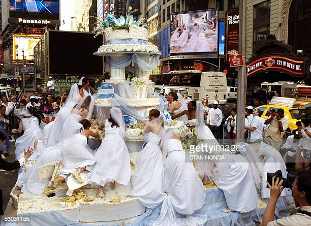 Times Square Wedding Stock Photos and Pictures Getty Images