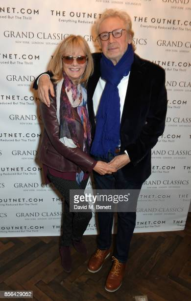 Twiggy and Leigh Lawson attend a Grand Classics screening of Saturday Night Fever hosted by Sienna Miller in association with THE OUTNET at The...