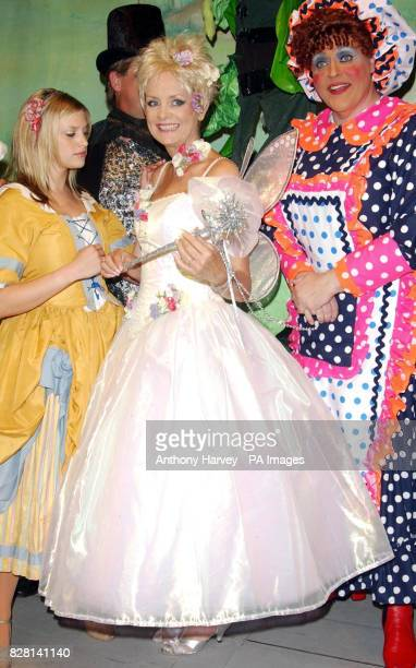 Twiggy as 'The Fairy' poses for photographers during a photocall for 'Jack and the Beanstalk' at the Theatre Royal Brighton 23 September 2005 PRESS...