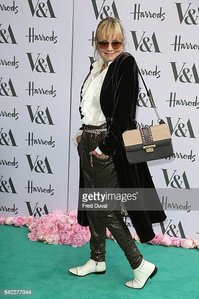 Twiggy Lawson arrives for the VA Summer Party at Victoria and Albert Museum on June 22 2016 in London England