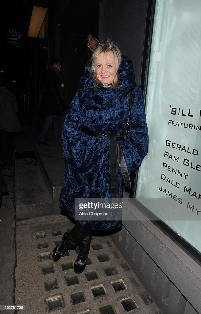 Twiggy sighting at Bill Wyman's 'Reworked' exhibition on February 26, 2013 in London, England.