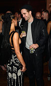 FKA twigs and Robert Pattinson attend The Warner Music Brit Party 2015 at Freemasons Hall on February 25 2015 in London England