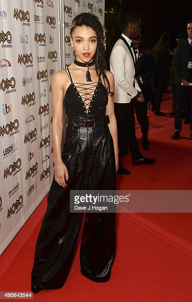 Twigs attends the MOBO Awards at First Direct Arena on November 4 2015 in Leeds England