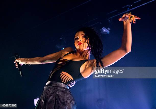 Twigs performs at Hackney Empire on October 8 2014 in London England