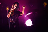 FKA twigs performs on stage at Northern Royal College Of Music on October 4 2014 in Manchester United Kingdom
