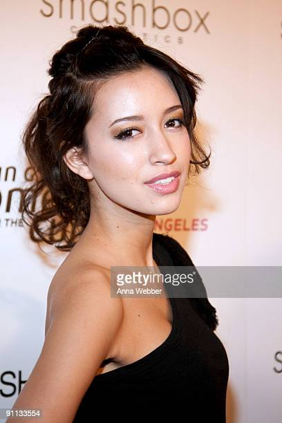 'Twilight' Actress Christian Serratos arrives at Susan G Komen's 8th Annual Fashion For The Cure at Smashbox West Hollywood on September 24 2009 in...