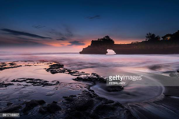 Twilight at Batu Bolong, Bali