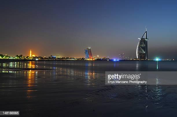 Twilight at Jumeirah Beach