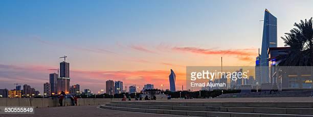 Twilight at Kuwait City