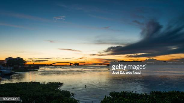 Twilight at Paraguay River