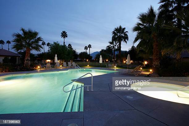 Twilight By The Pool