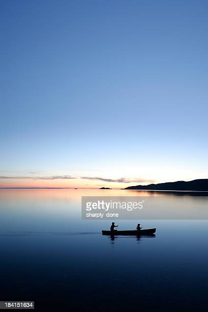 XXXL twilight canoeing