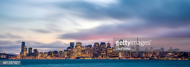 Twilight in San Francisco