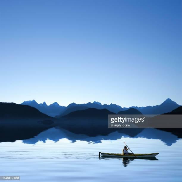 XXXL twilight ocean kayaking