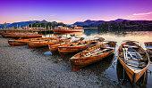 Twilight on Derwentwater, The Lake District, Cumbria, England