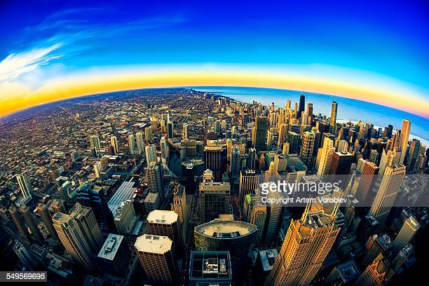 Twilight over Chicago