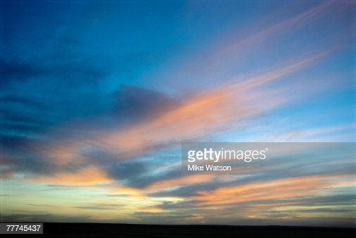 Twilight Sky : Stock Photo
