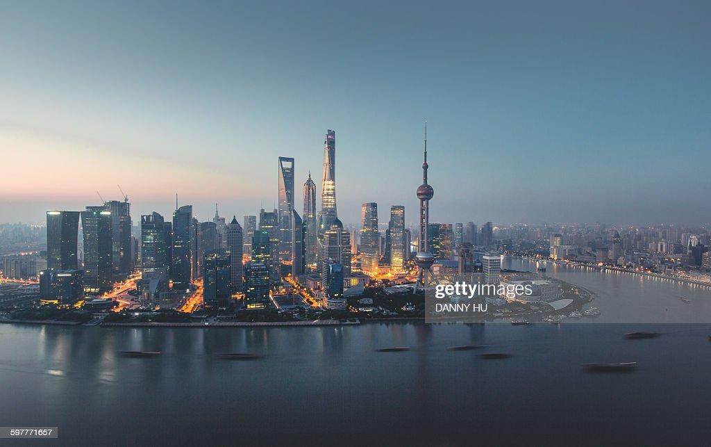 Twilighted Shanghai