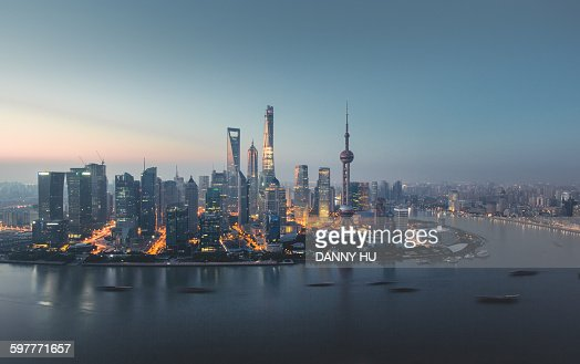 Twilighted Shanghai