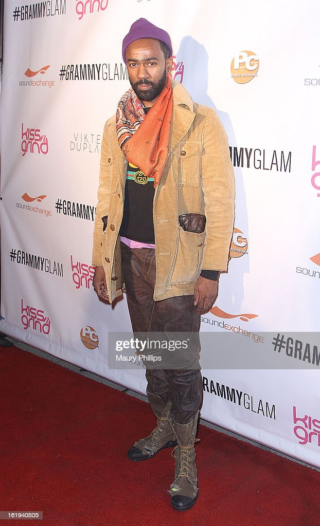 DJ Twilite Tone attends The 6th Annual Kiss-N-Grind GRAMMY Edition hosted by Common with Vikter Duplaix and music producer The Twilite Tone at Arena Nightclub on February 8, 2013 in Hollywood, California.