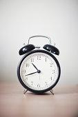 Twin Bell Alarm Clock on Desk