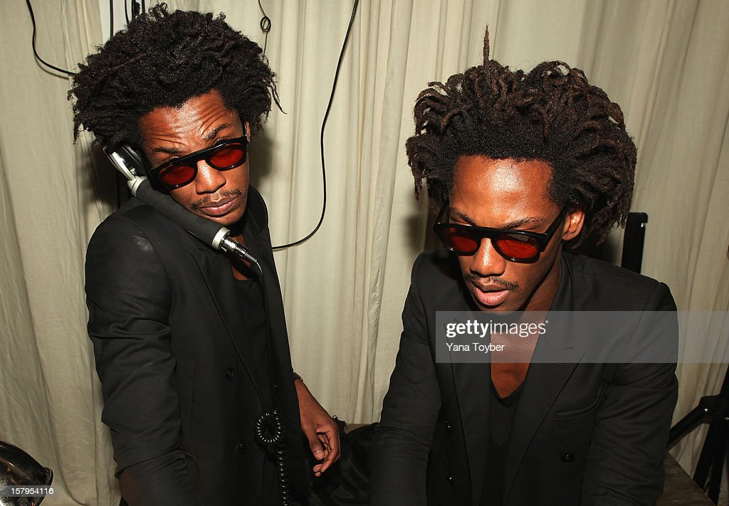 Twin Duo William Wilson Doppelganger attend Pavan A La Plage at Soho Beach House on December 7, 2012 in Miami Beach, Florida.