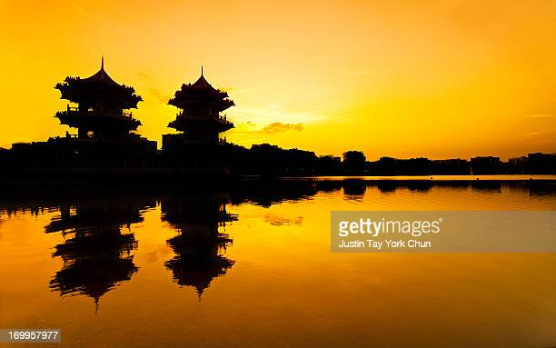 Twin Pagoda ~ Golden