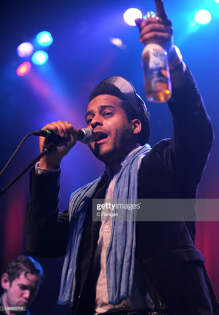 Twin Shadow performs at The Last Waltz Tribute Concert at The Warfield Theater on November 24, 2012 in San Francisco, California.