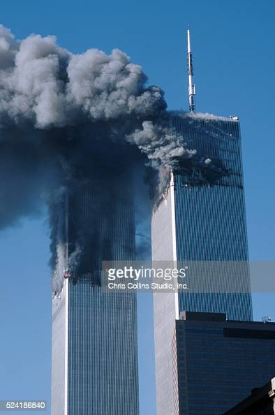 Twin Towers Burning Pictures Getty Images