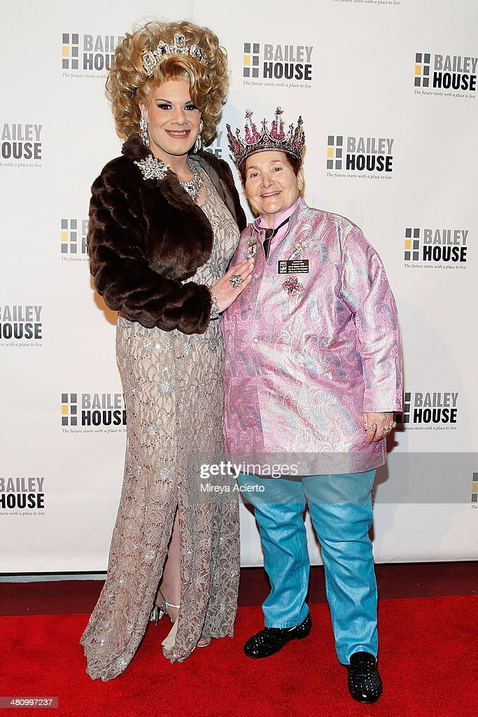 Twinkle Montgomery and Empress Wendy attend Bailey House's 2014 Gala & Auction at Pier 60 on March 27, 2014 in New York City.