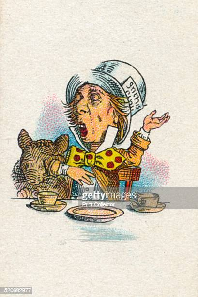 Twinkle Twinkle said the Hatter' 1930 The Hatter from Lewis Carroll's 'Alice in Wonderland' After an illustration by John Tenniel colour printed by...