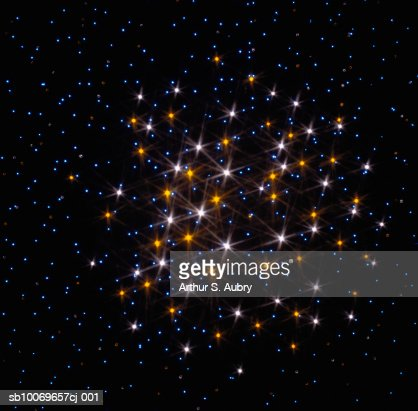 Twinkling lights, digitally generated : Stock Photo