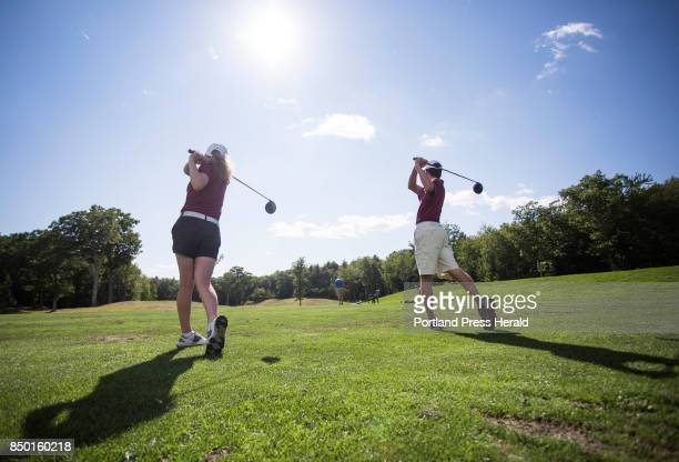 Twins Jacob and Jordan Laplume will be key players for the Thornton Academy golf team this season