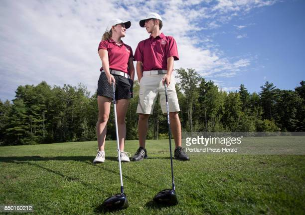 Twins Jordan and Jacob Laplume will be key players for the Thornton Academy golf team this season Although they are on the same team the pair says...
